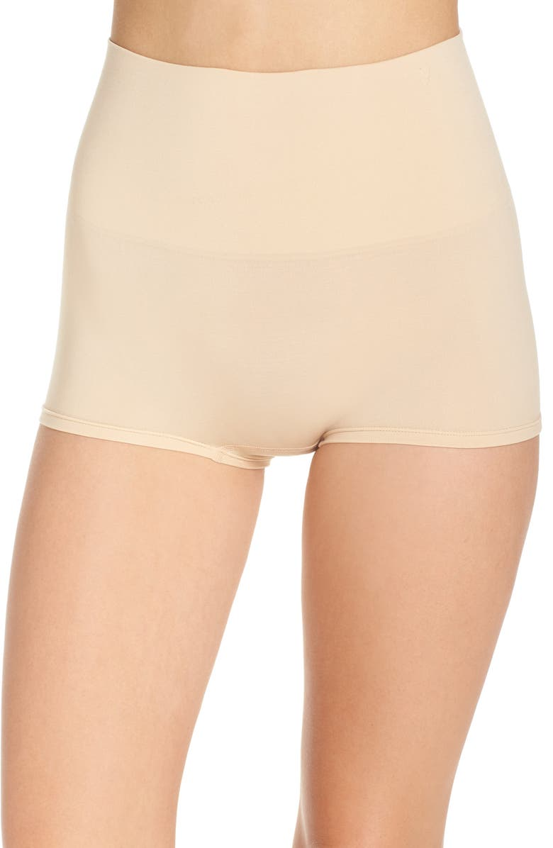 YUMMIE Ultralite Seamless Shaping Girlshorts, Main, color, FRAPPE