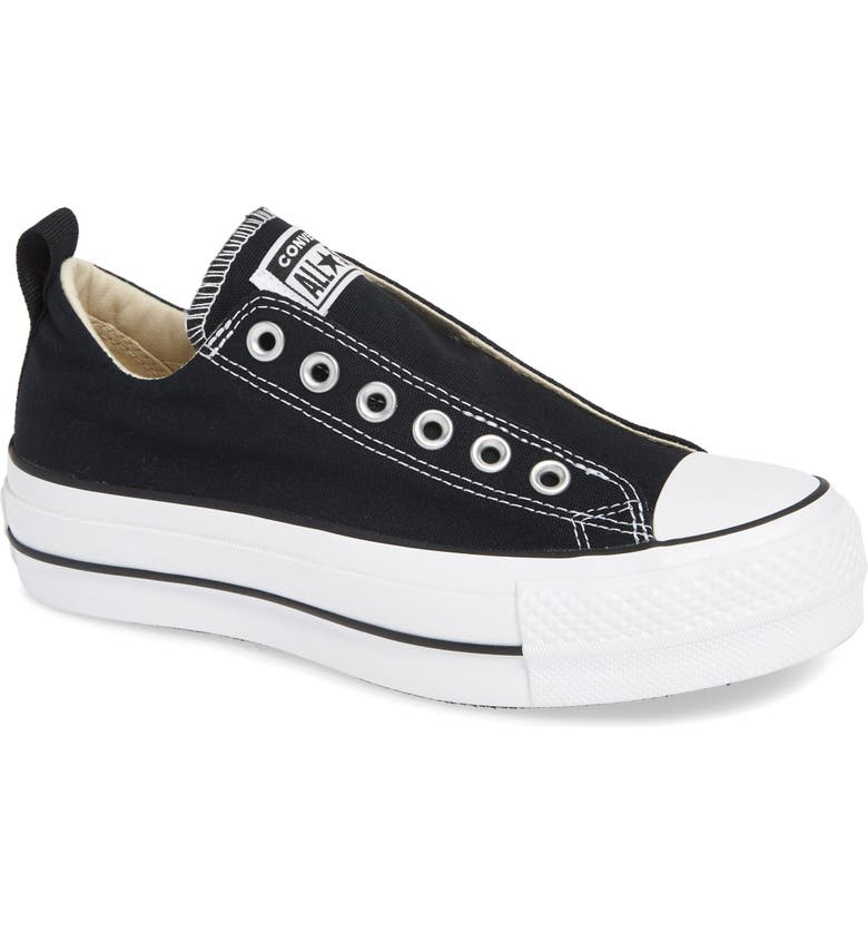 CONVERSE Chuck Taylor<sup>®</sup> All Star<sup>®</sup> Low Top Sneaker, Main, color, 001
