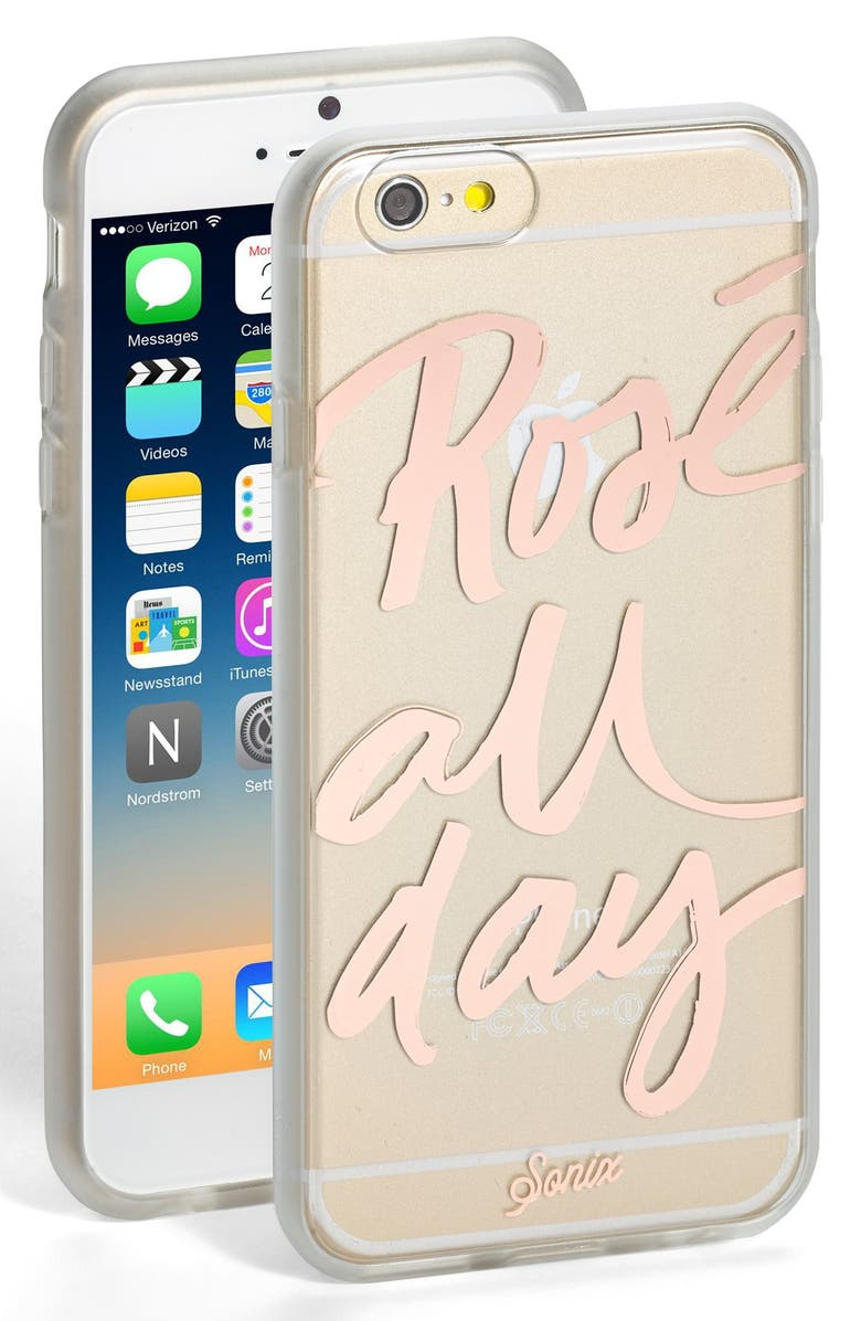 SONIX 'Rosé All Day' iPhone 6 & 6s Case, Main, color, 220