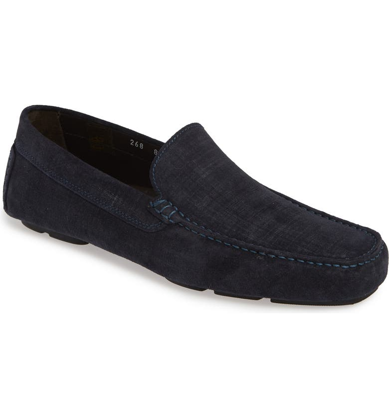 TO BOOT NEW YORK Lewis Driving Loafer, Main, color, BLUE LEATHER