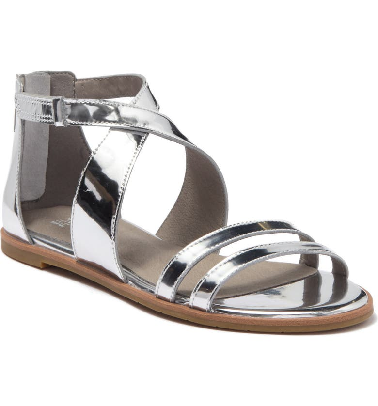 EILEEN FISHER Cici Sandal, Main, color, SILVER