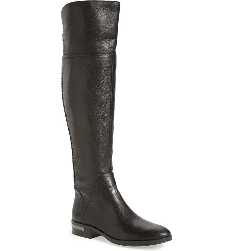 VINCE CAMUTO 'Pedra' Over the Knee Boot, Main, color, 001