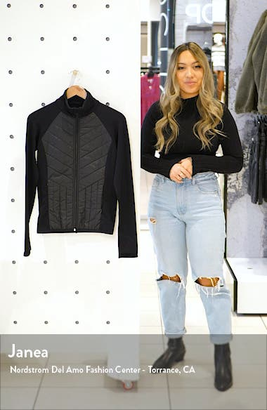 Quilted Hybrid Jacket, sales video thumbnail