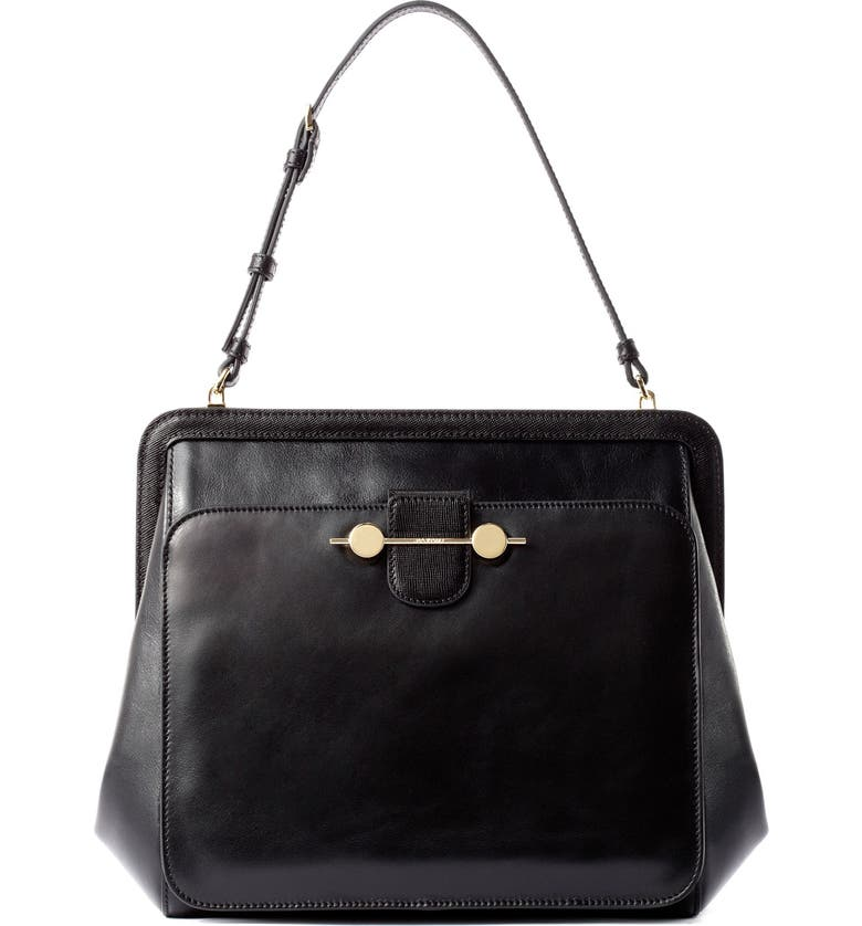 JASON WU COLLECTION Jason Wu 'Daphne' Leather Satchel, Main, color, 001