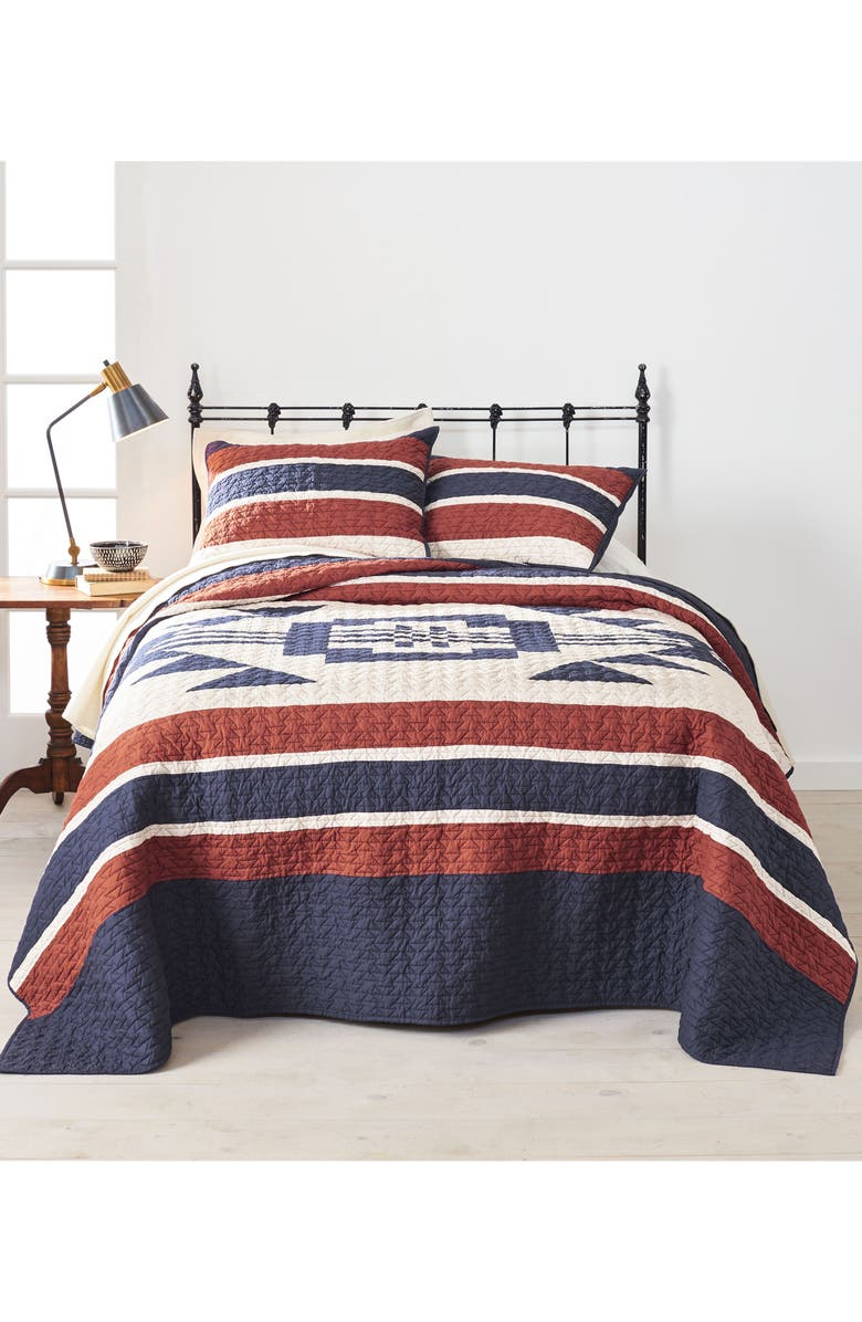 PENDLETON Athena Quilt & Sham Set, Main, color, 400