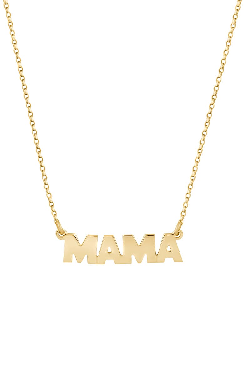ELECTRIC PICKS Mama Necklace, Main, color, 710