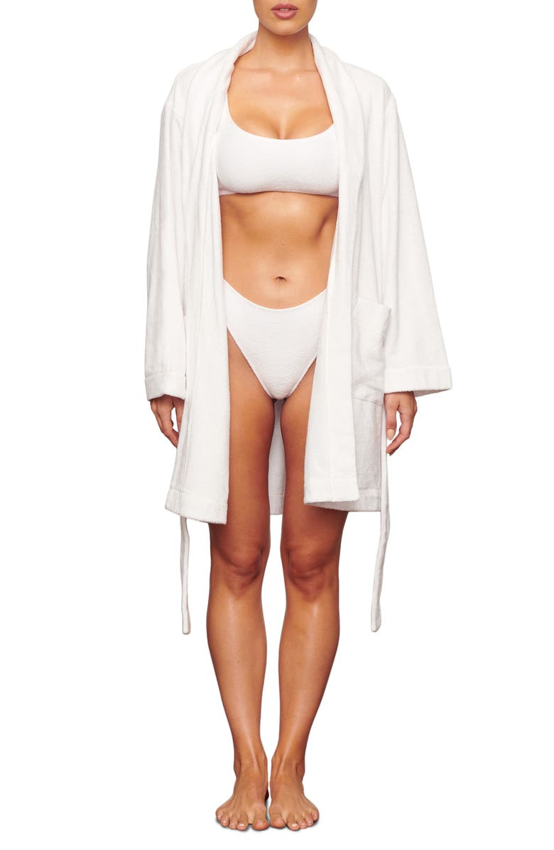 SKIMS Terry Robe, Main, color, MARBLE