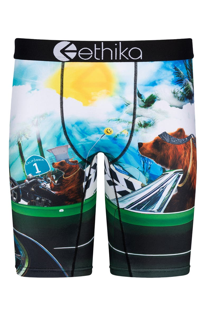 ETHIKA Kids' Good Day Boxer Briefs, Main, color, ASSORTED