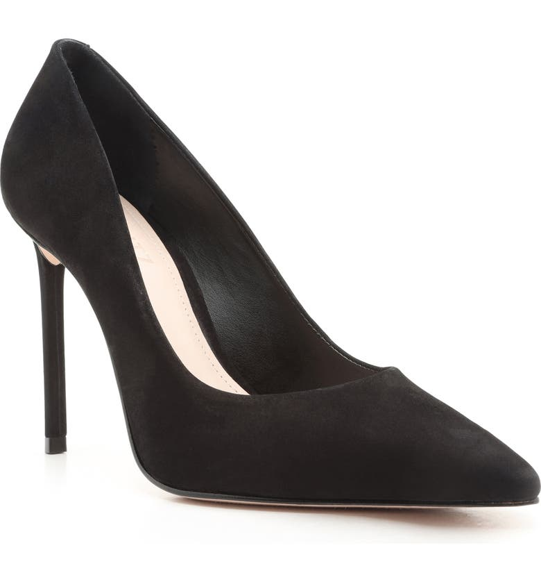 SCHUTZ Lou Pointed Toe Pump Women), Main, color, BLACK