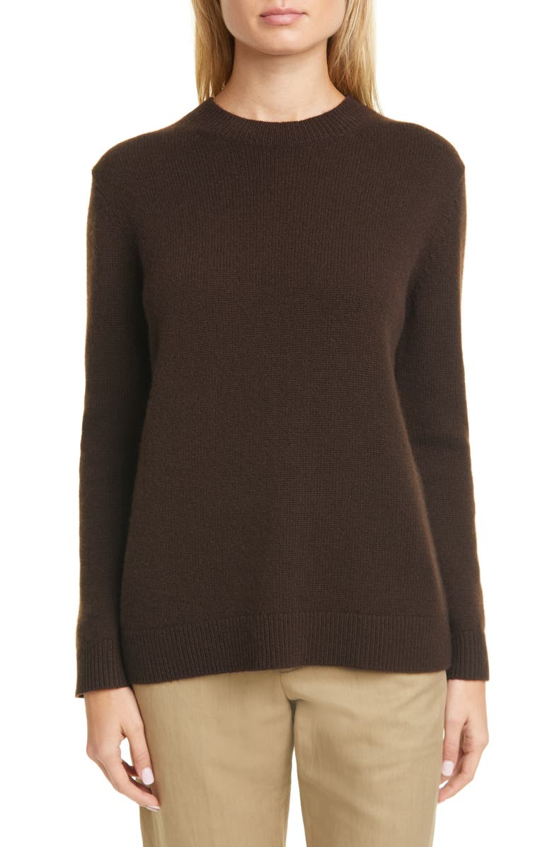 THEORY Crewneck Cashmere Sweater, Main, color, 243