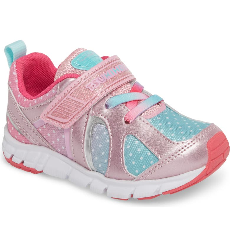 TSUKIHOSHI Rainbow Washable Sneaker, Main, color, ROSE/ MINT
