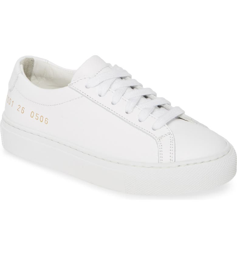 COMMON PROJECTS Original Achilles Sneaker, Main, color, 100
