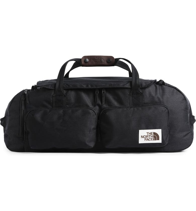 THE NORTH FACE Berkeley Duffle Bag, Main, color, BLACK HEATHER