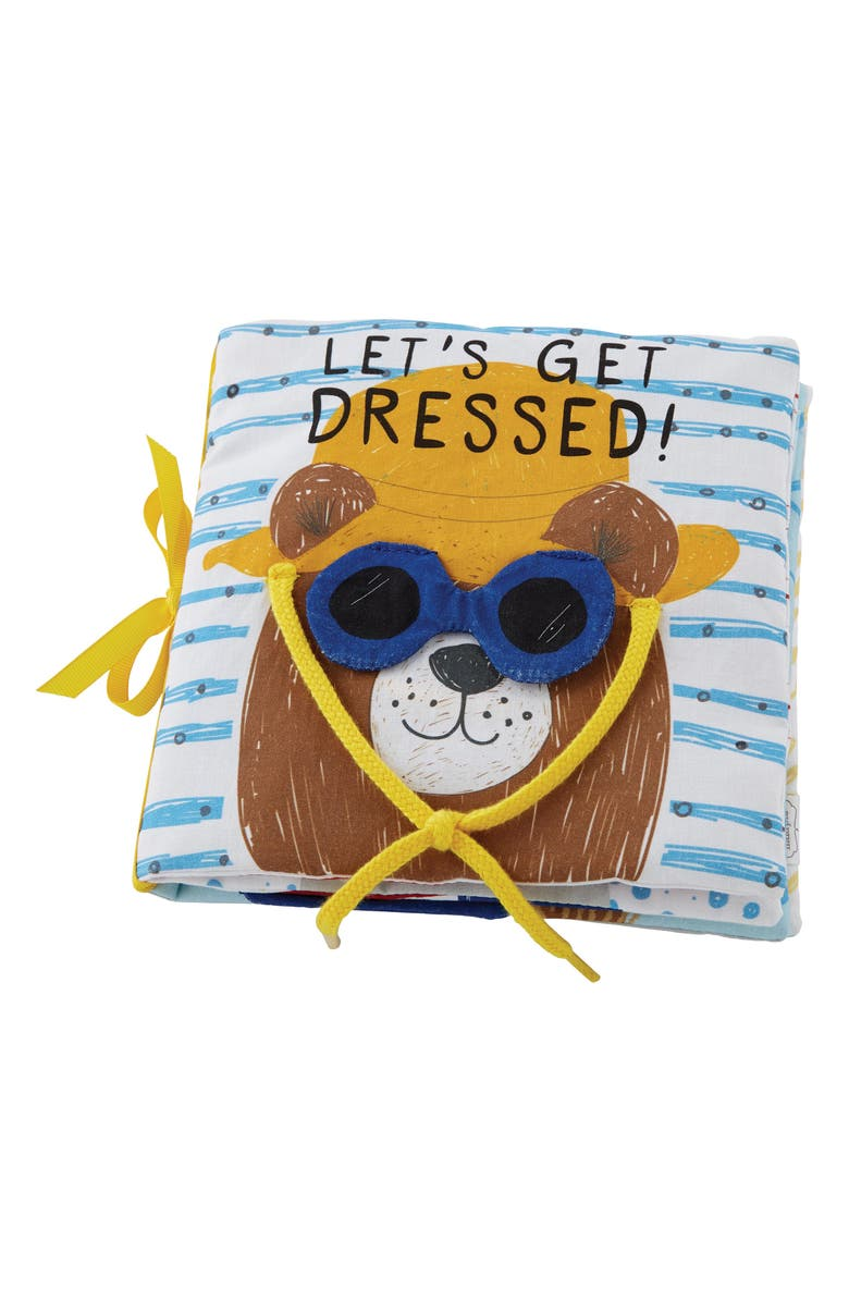 MUD PIE Let's Get Dressed Learning Book, Main, color, Yellow