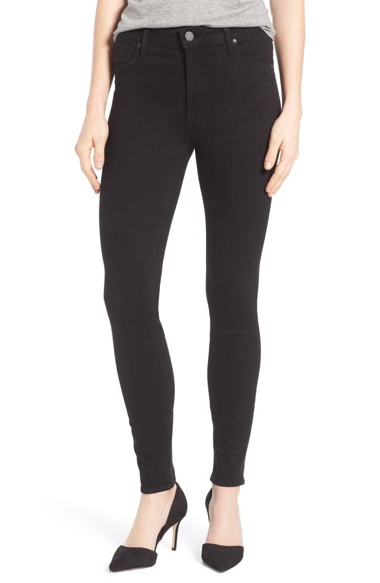 PARKER SMITH Bombshell High Waist Stretch Skinny Jeans, Main, color, 001
