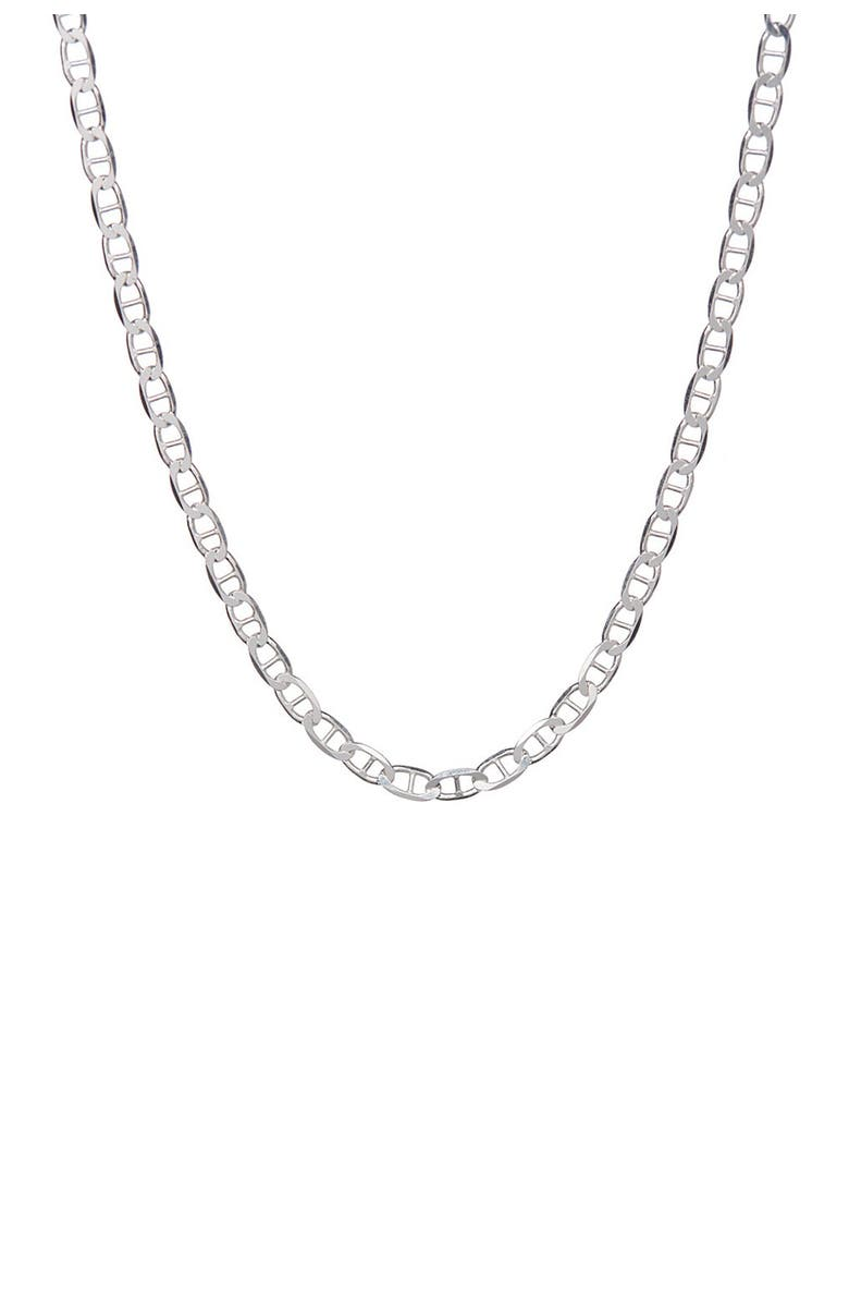"""BEST SILVER Sterling Silver 050 Gauge Mariner Chain 20"""", Main, color, SILVER"""