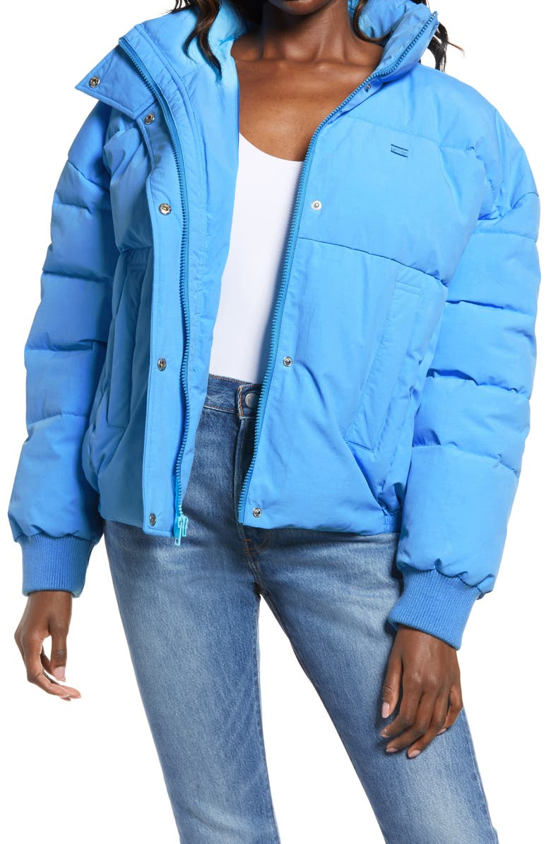 LEVI'S<SUP>®</SUP> Women's Puffer Jacket, Main, color, POOL BLUE