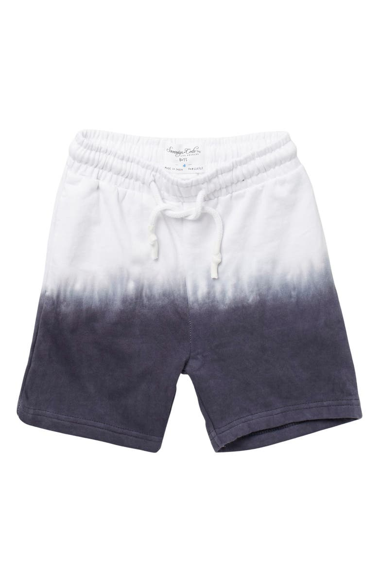 SOVEREIGN CODE Warner Tie Dye Shorts, Main, color, NAVY/ WHITE
