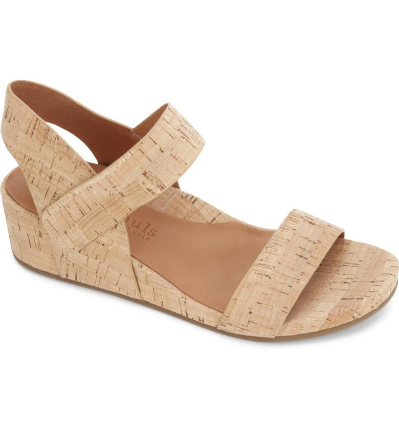 GENTLE SOULS BY KENNETH COLE Gianna Sandal, Main, color, NATURAL CORK