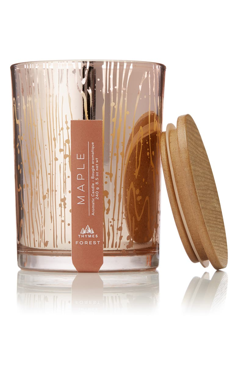 THYMES Forest Maple Scented Candle, Main, color, 600