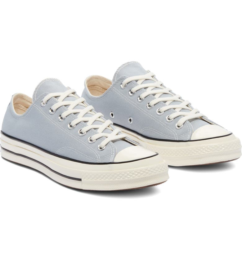 CONVERSE Chuck Taylor<sup>®</sup> All Star<sup>®</sup> 70 Low Top Sneaker, Main, color, WOLF GREY/ BLACK/ EGRET
