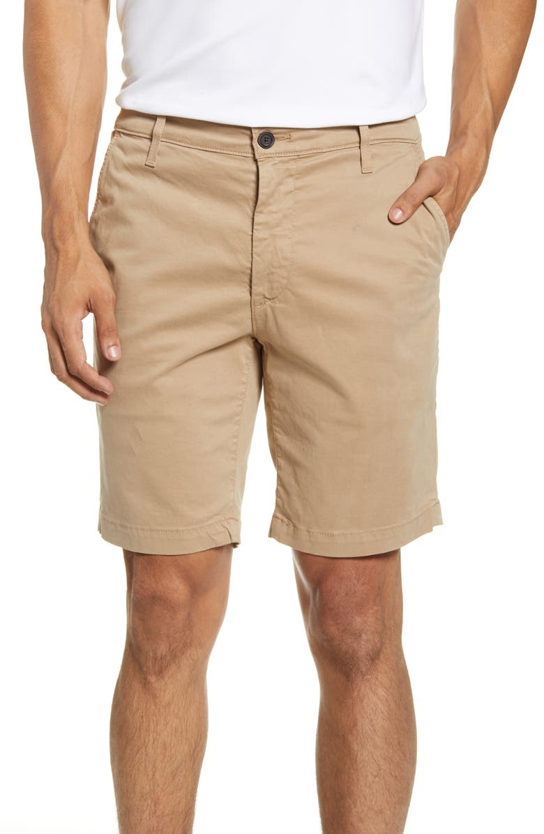 AG Wanderer Modern Slim Fit Shorts, Main, color, PARCHED TRAIL