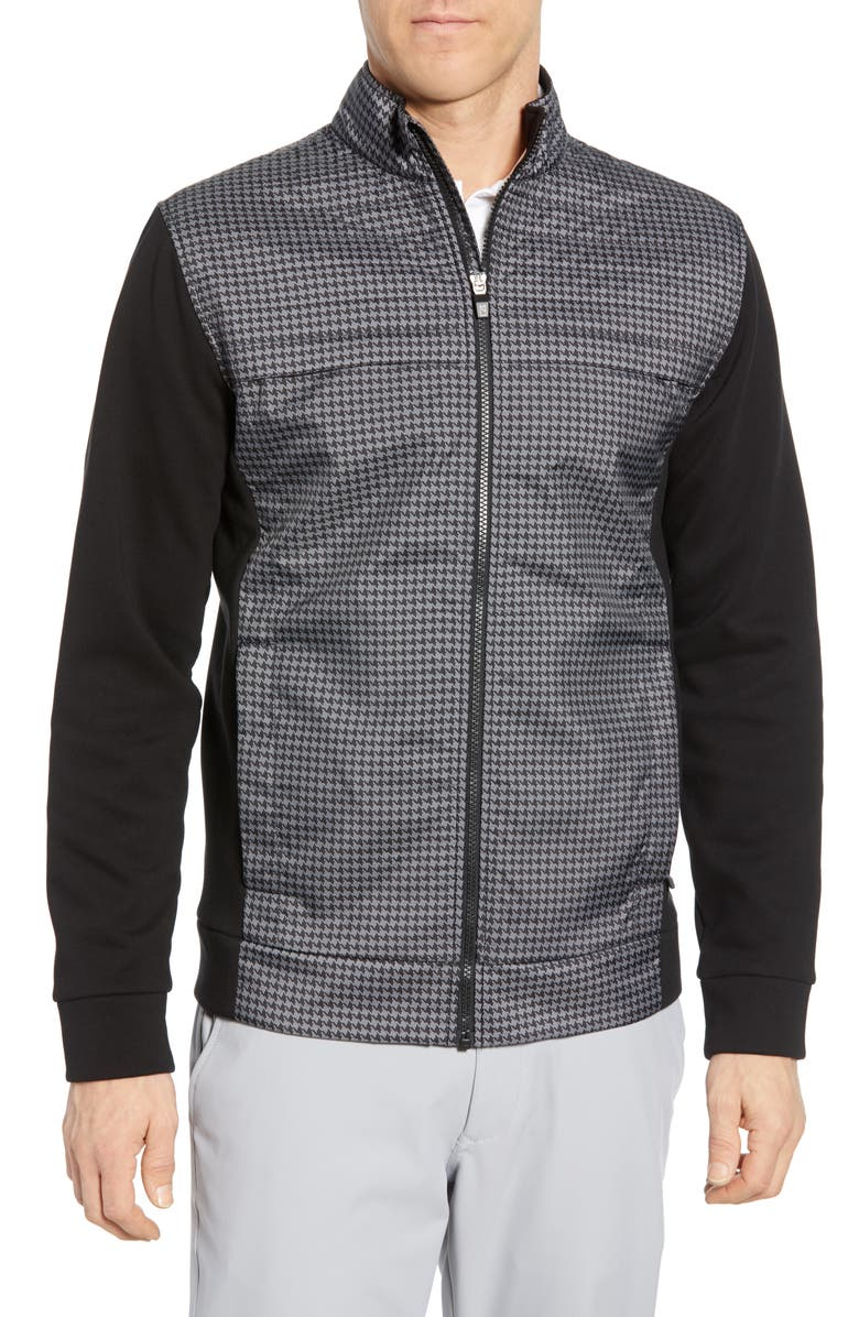 CUTTER & BUCK Discovery Hybrid Jacket, Main, color, Black
