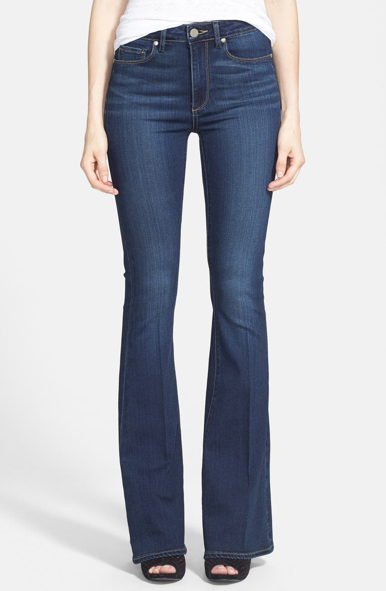 PAIGE 'Transcend - Bell Canyon' High Rise Flare Jeans, Main, color, 401