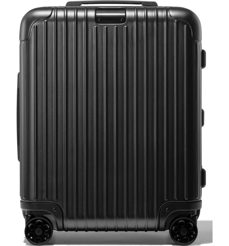 RIMOWA Essential Cabin Plus 22-Inch Wheeled Carry-On, Main, color, MATTE BLACK