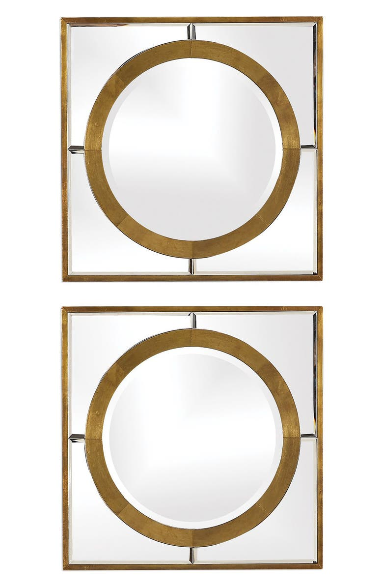 UTTERMOST Gaza Set of 2 Mirrors, Main, color, 710