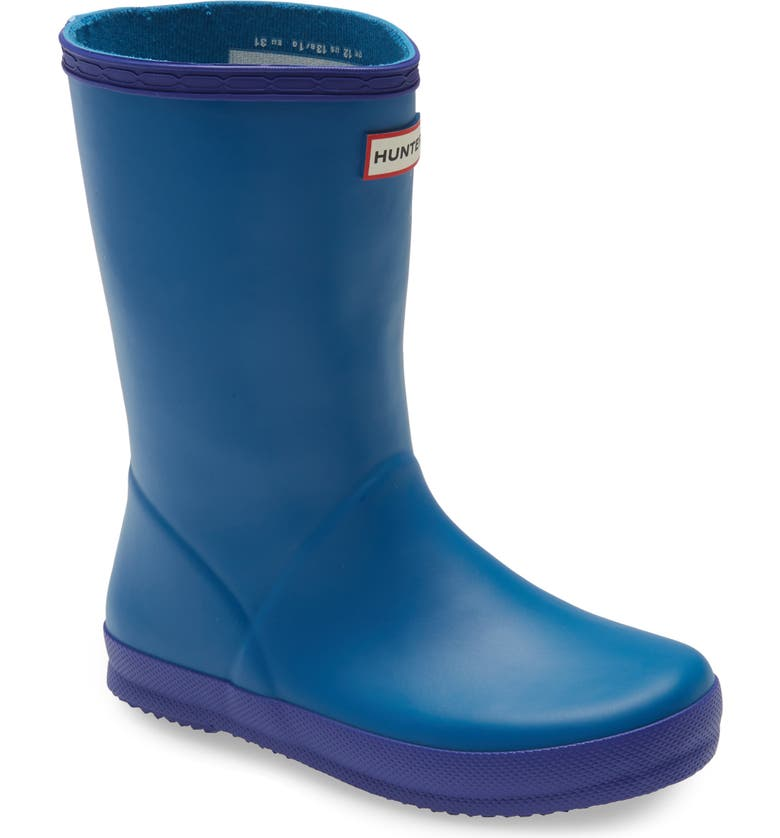 HUNTER First Classic Waterproof Rain Boot, Main, color, 429
