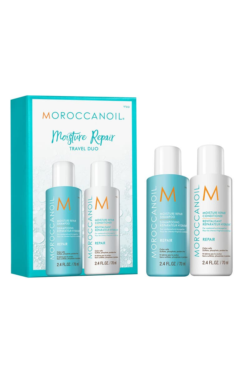 MOROCCANOIL<SUP>®</SUP> Travel Size Moisture Repair Set, Main, color, No Color