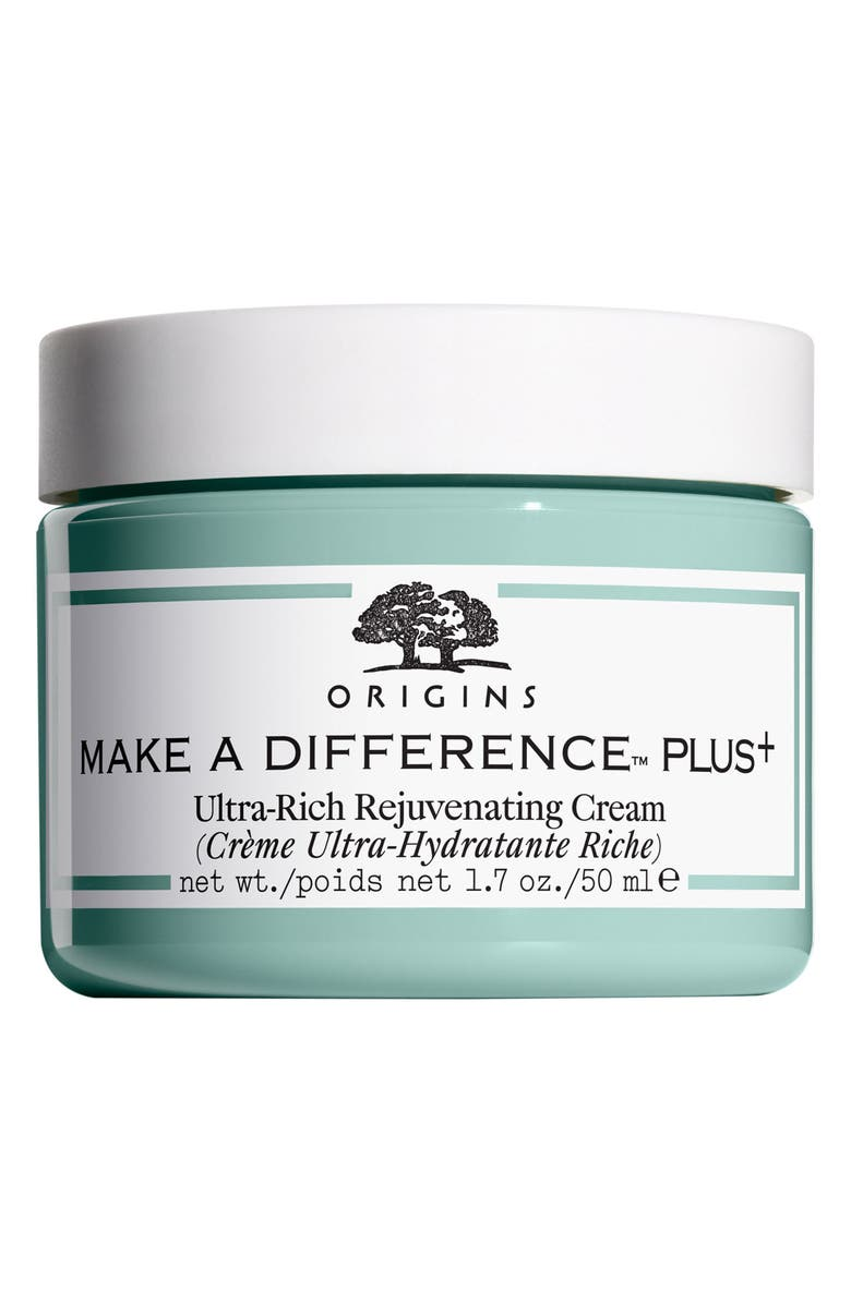 ORIGINS Make A Difference<sup>™</sup> Plus+ Ultra-Rich Rejuvenating Cream, Main, color, 000
