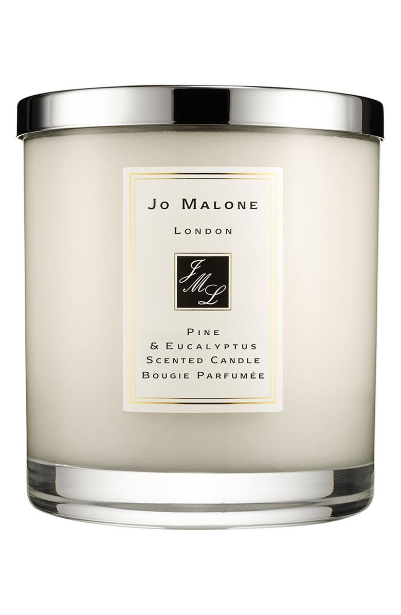 JO MALONE LONDON<SUP>™</SUP> Jo Malone<sup>™</sup> 'Pine & Eucalyptus' Scented Home Candle, Main, color, 000