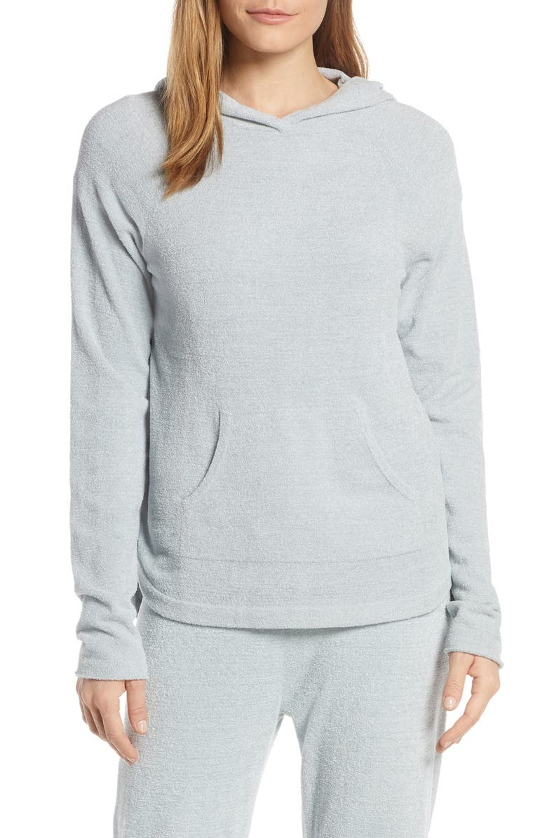 BAREFOOT DREAMS<SUP>®</SUP> CozyChic<sup>™</sup> Ultra Lite<sup>®</sup> Pullover Hoodie, Main, color, BLUE WATER