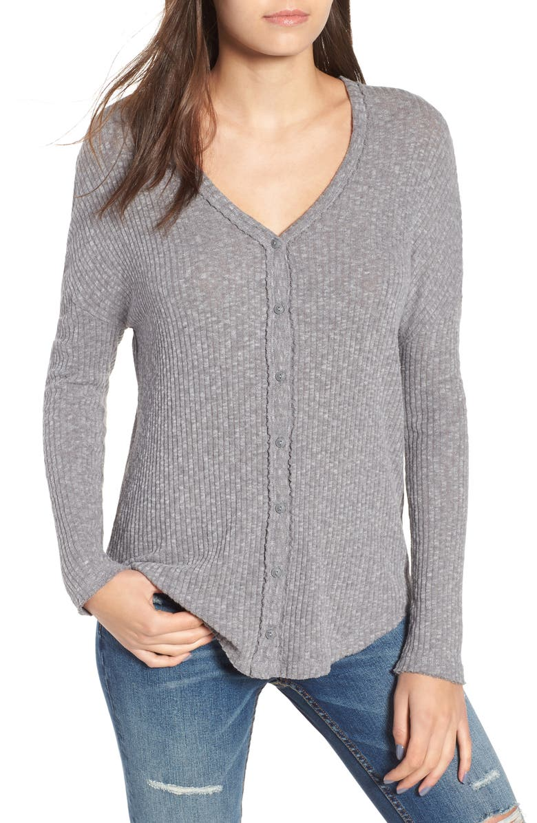 BP. Ribbed Cardigan, Main, color, 030