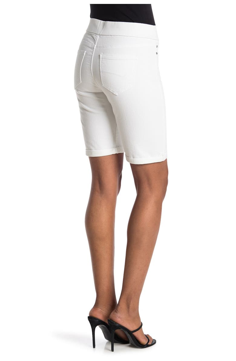 LIVERPOOL Sienna Pull-On Shorts, Main, color, BRIGHT WHITE