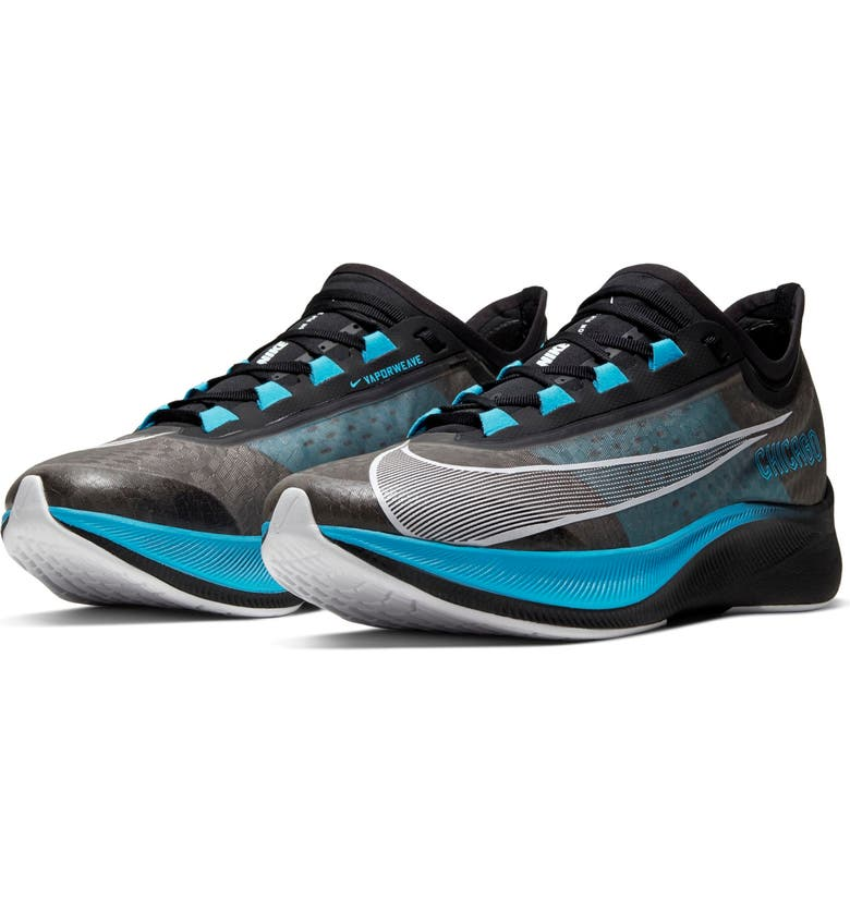 NIKE Zoom Fly 3 Chicago Marathon Running Shoe, Main, color, 400