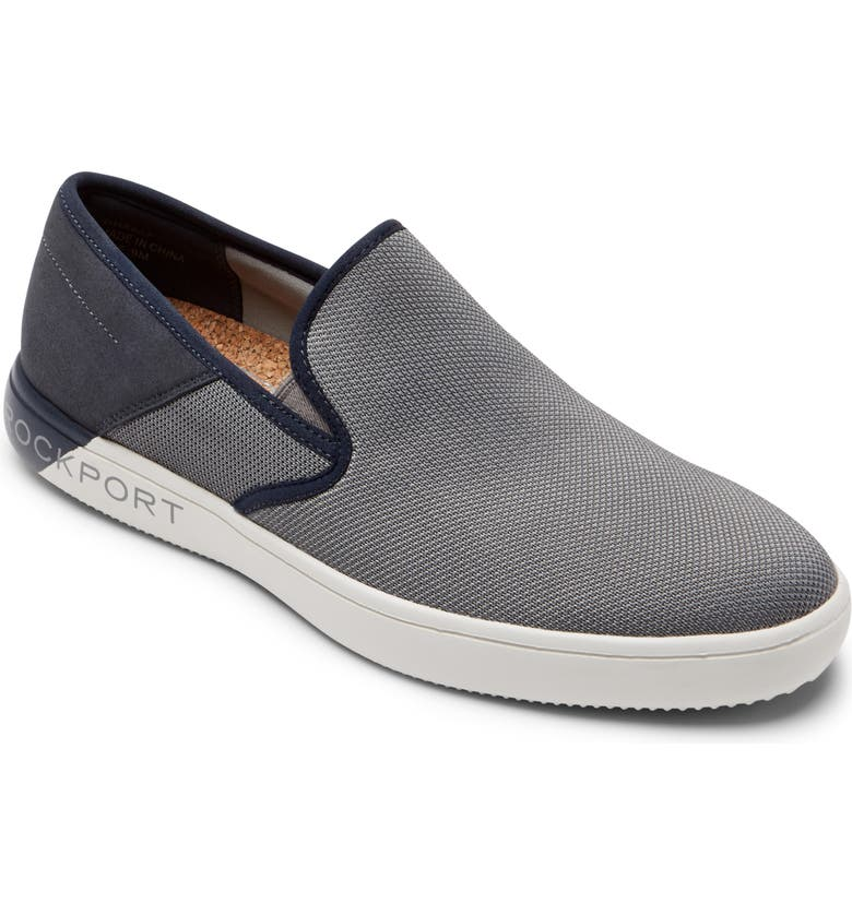 ROCKPORT Colle Slip-On, Main, color, GREY MULTI MESH