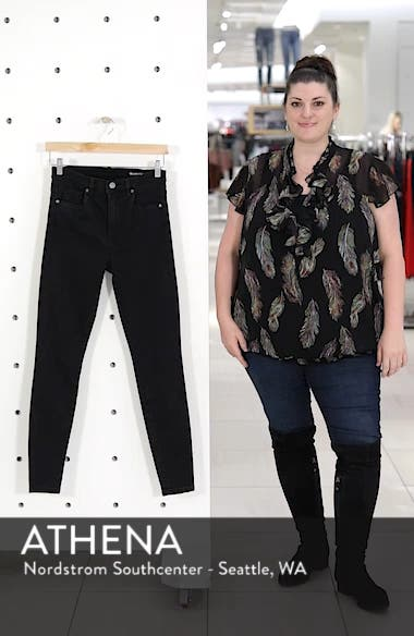 The Great Jones High Rise Skinny Jeans, sales video thumbnail