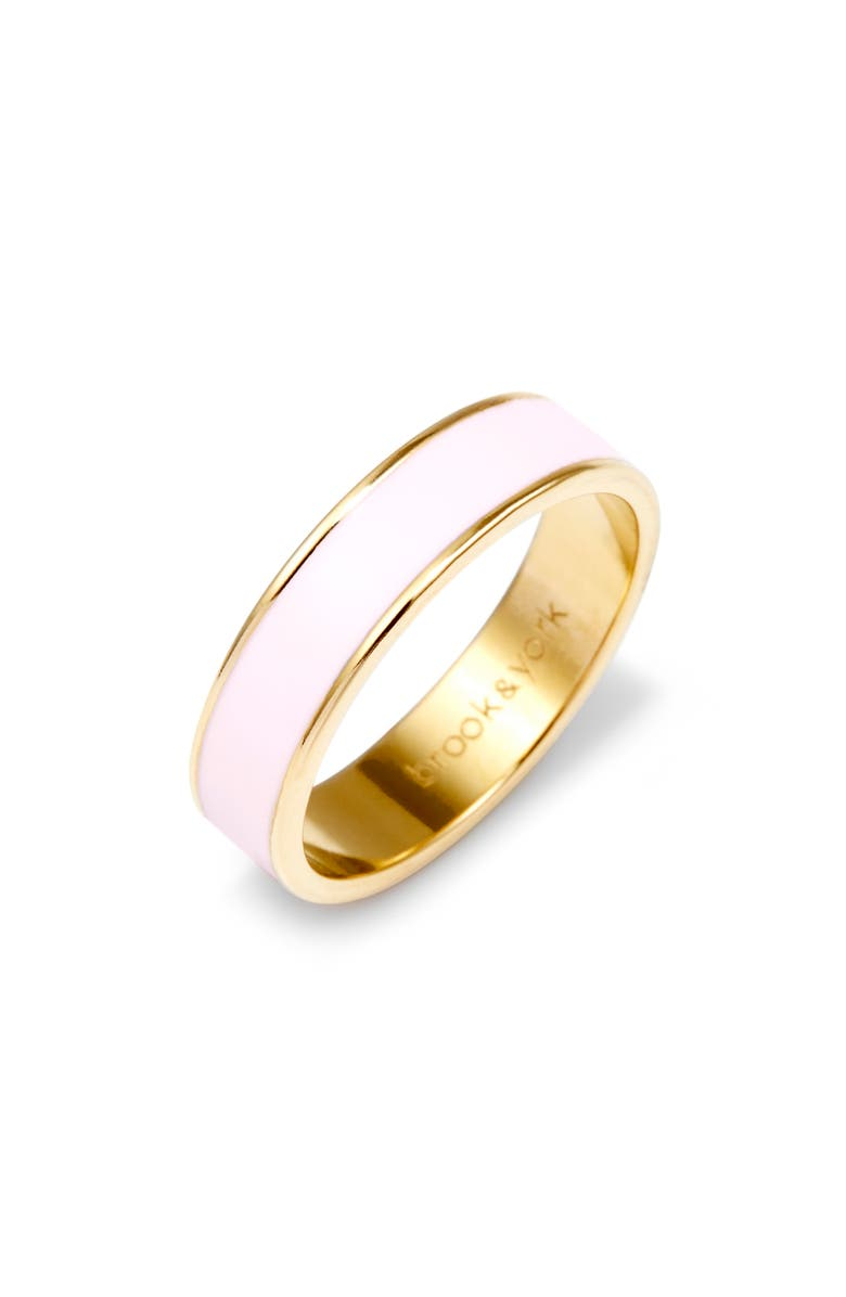 BROOK AND YORK Madison Enamel Ring, Main, color, GOLD