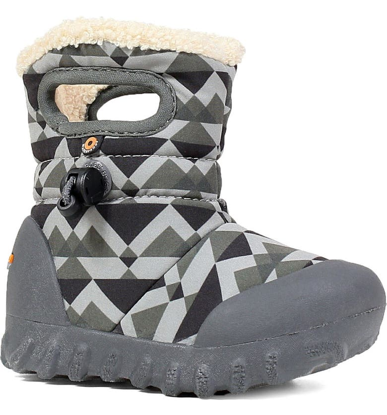 BOGS B-MOC Mountain Insulated Faux Fur Waterproof Boot, Main, color, 062