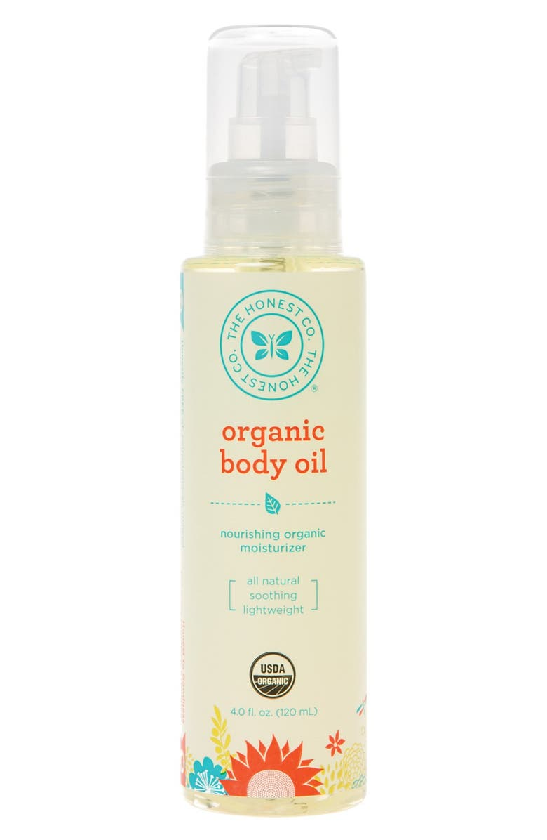 THE HONEST COMPANY Organic Body Oil, Main, color, 000