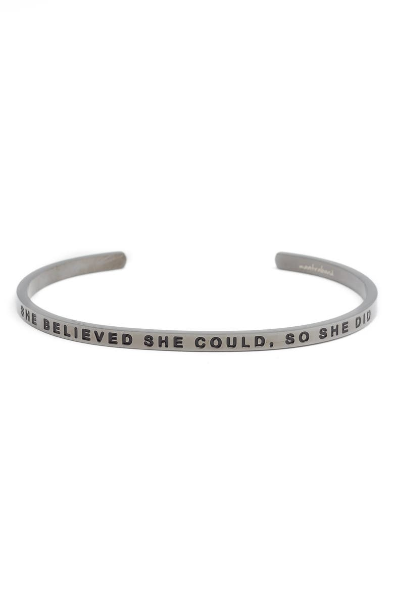 MANTRABAND<SUP>®</SUP> She Believed She Could Cuff, Main, color, 026