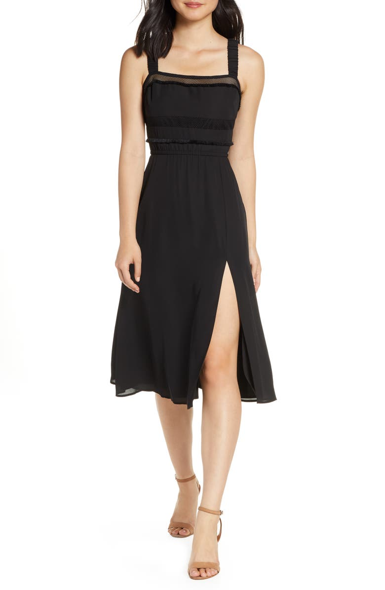ALI & JAY Mimosa Please Midi Dress, Main, color, 001