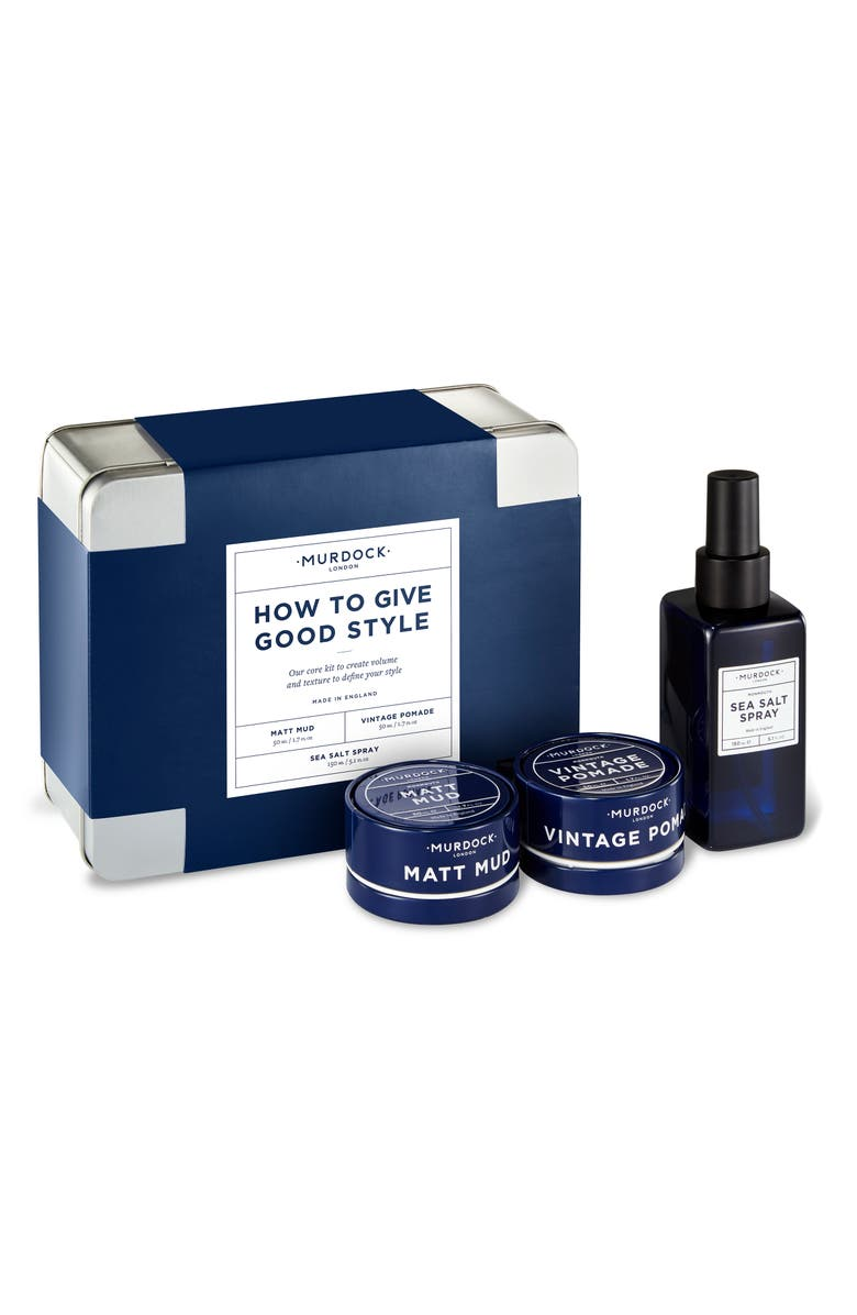 MURDOCK LONDON How to Give Good Style Set, Main, color, No Color