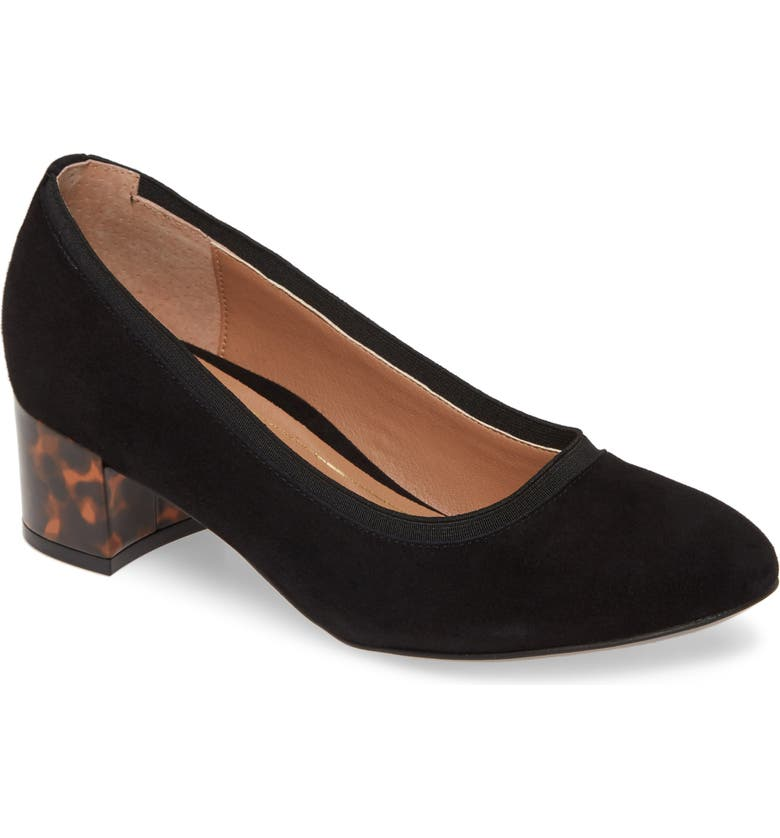 VIONIC Natalie Pump, Main, color, BLACK SUEDE