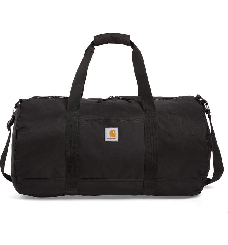 CARHARTT WORK IN PROGRESS Wright Water Repellent Duffel Bag, Main, color, 001