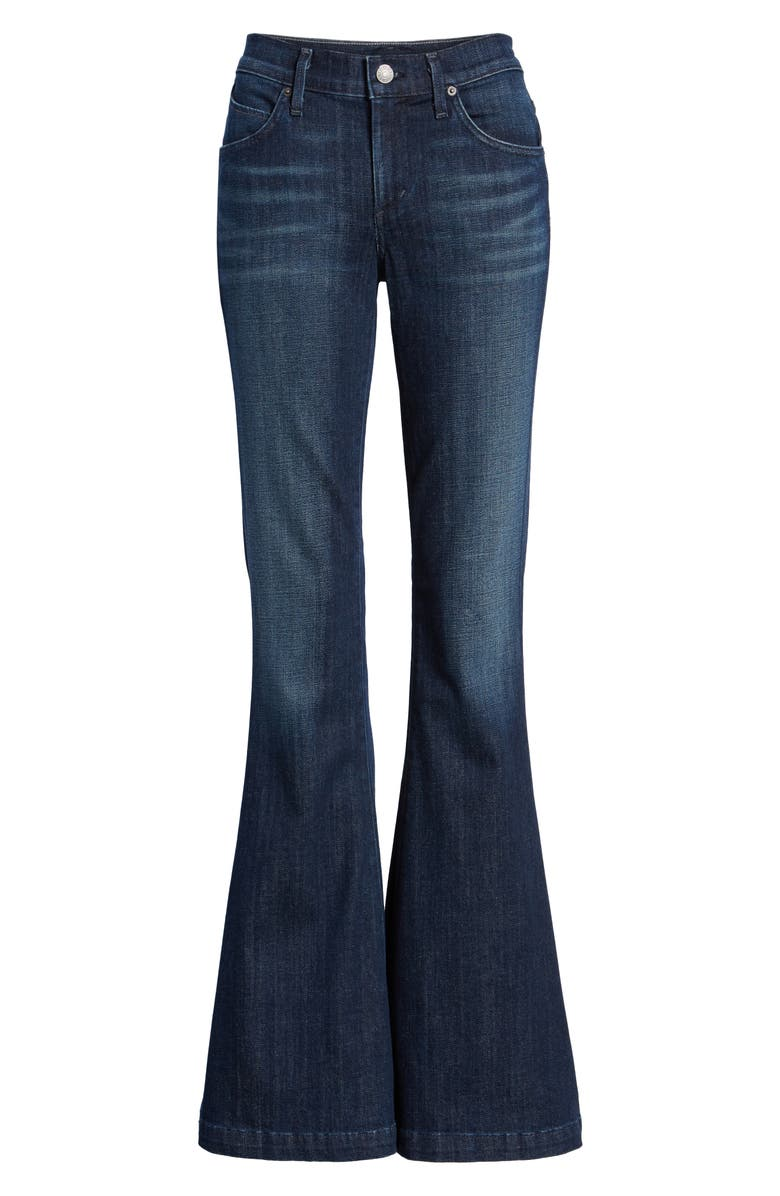 AGOLDE Madison Flare Jeans, Main, color, VOYAGE