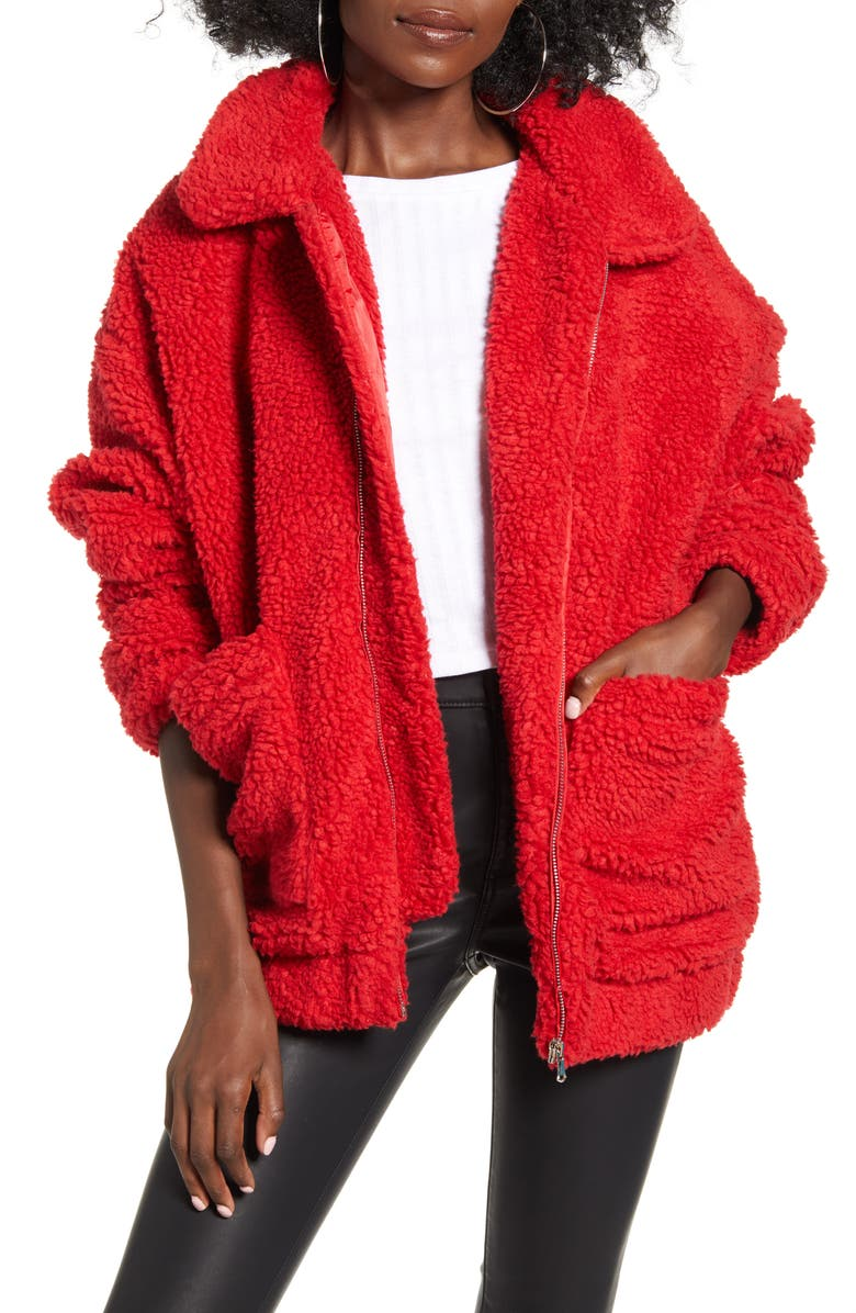 I.AM.GIA Pixie Faux Shearling Jacket, Main, color, 604